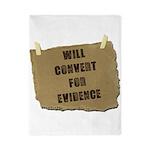 Will Convert For Evidence Twin Duvet