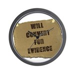 Will Convert For Evidence Wall Clock