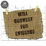 Will Convert For Evidence Puzzle