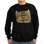 Will Convert For Evidence Sweatshirt (dark)