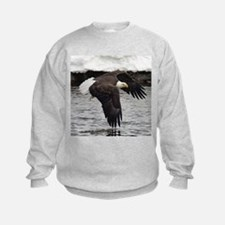 Eagle, Fish in Talons Sweatshirt