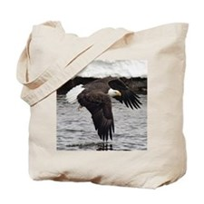 Eagle, Fish in Talons Tote Bag