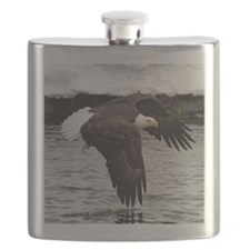 Eagle, Fish in Talons Flask