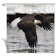 Eagle, Fish in Talons Shower Curtain
