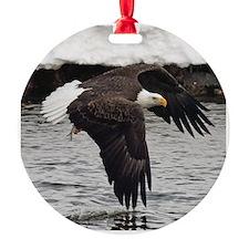 Eagle, Fish in Talons Ornament