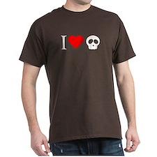 i heart skull T-Shirt