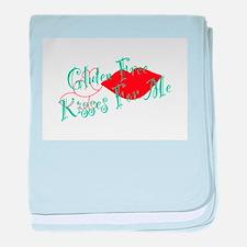 Gluten Free Kisses For Me baby blanket