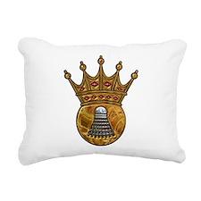 King Of Badminton Rectangular Canvas Pillow