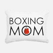 Boxing Mom Rectangular Canvas Pillow