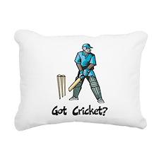 Got Cricket? Rectangular Canvas Pillow