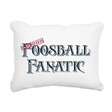 Foosball Fanatic Rectangular Canvas Pillow