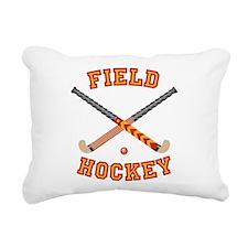 Field Hockey Rectangular Canvas Pillow