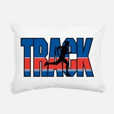 Track & Field Rectangular Canvas Pillow
