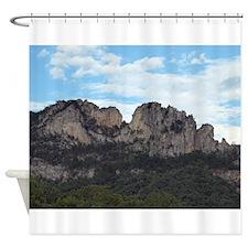 Seneca Rocks Shower Curtain
