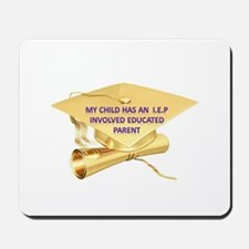 Involved Educated Parent Mousepad