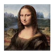 Mona Lisa Painting / Portrait Tile Coaster