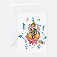 Sri Ganesha Greeting Card