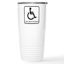 I Roll With the Crips Travel Mug