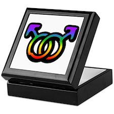 Gay Pride Keepsake Box