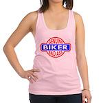 Genuine_Biker_Badass.png Racerback Tank Top