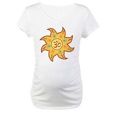 Healing Sun with Om Sign Shirt