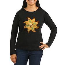 Healing Sun with Om Sign T-Shirt
