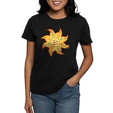Healing Sun with Om Sign Tee