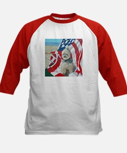 """Born in the USA"" Kids Baseball Jersey"