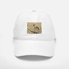 sepia silver backed jackal kenya collection Baseball Baseball Cap