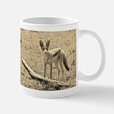 sepia silver backed jackal kenya collection Mug