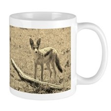 sepia silver backed jackal kenya collection Mug
