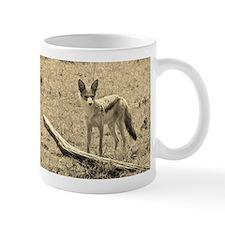 sepia silver backed jackal kenya collection Small Mug