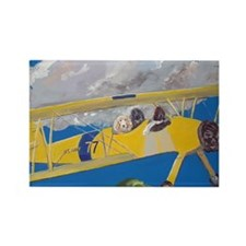 """Flight Crew"" Rectangle Magnet"