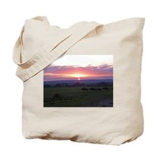 maasai mara sunset kenya collection Tote Bag