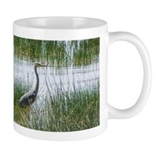 grey heron kenya collection Mug