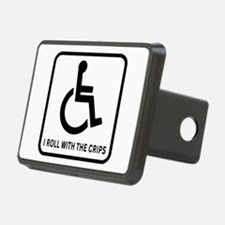 I Roll With the Crips Hitch Cover