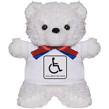 I Roll With the Crips Teddy Bear