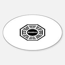 Dharma Sticker (Oval)