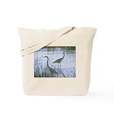 great white egrets kenya collection Tote Bag