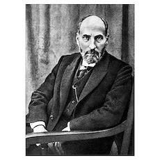 Santiago Ramon y Cajal, histologist Poster