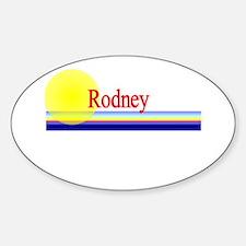 Rodney Oval Decal