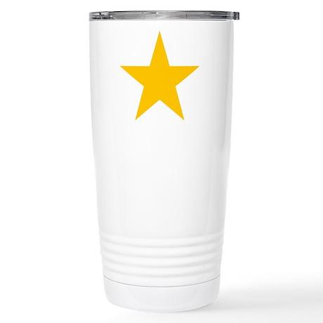 yellow star 1 Stainless Steel Travel Mug
