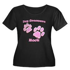 Dog Groomers Rock T