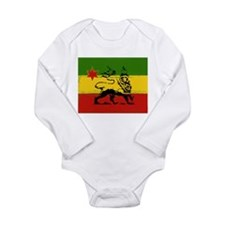 Rasta Bab Lion Of Judah Long Sleeve Body Suit