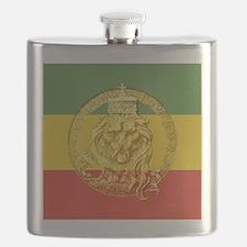 Rasta Roaring Lion of Judah Flask