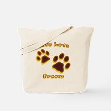 Live Love Groom Tote Bag