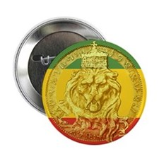 "Jamaican Lion 2.25"" Button (10 Pack)"