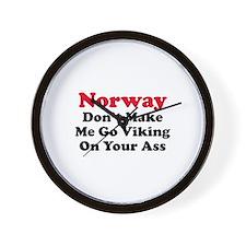 Norway Viking Wall Clock
