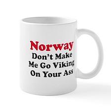 Norway Viking Small Mug