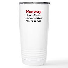 Norway Viking Travel Mug